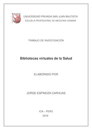 PUBMED  - ESPINOZA CARHUAS