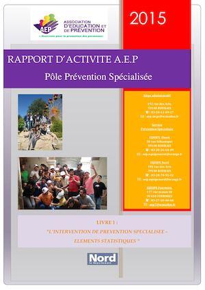 Rapport D'activité 2015 Livre 1 Modifié Version 2