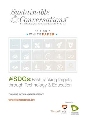 #SDGs: Fast Tracking Targets through Technology and Education