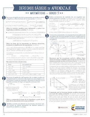 Calaméo - Ejercicios De Matematica Grado 9