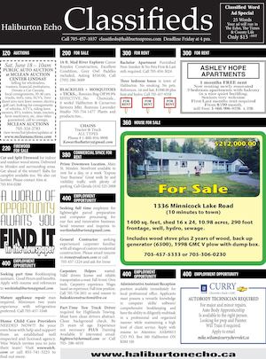 Classifieds June 7, 2016