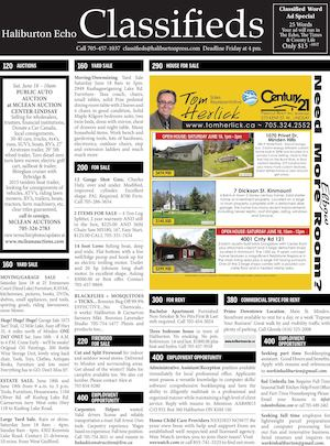Classifieds June 14, 2016
