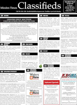 Classifieds June 23, 2016
