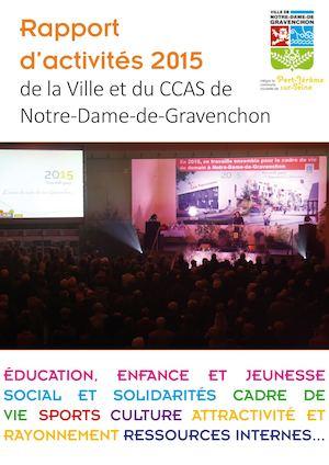 Calam o rapport d 39 activit s 2015 de la ville de notre dame de gravenchon - Notre dame de gravenchon piscine ...
