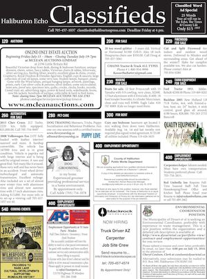 Classifieds July 5, 2016