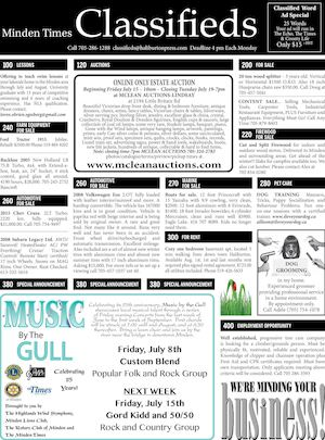 Classifieds July 7, 2016