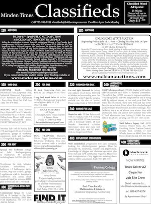 Classifieds July 14, 2016