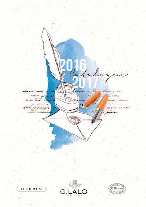 Le catalogue G. Lalo J.Herbin 2016 - 2017