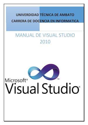 calam o libro visual basic 2010 rh calameo com manual visual basic 2010 español manual visual basic 2010 express pdf
