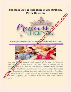 We Organize Girls Parties Houston In Spa Truck And Make The Kids Feel Great On Their Birthday CONTACT INFO Address Katy TX United States