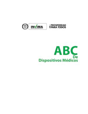 6.  ABC Dispositivos Medicos INVIMA