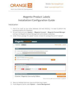 Magento Product Labels Installation Guide