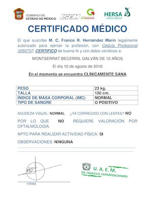 CERTIFICADO MEDICO FORMATO DOWNLOAD