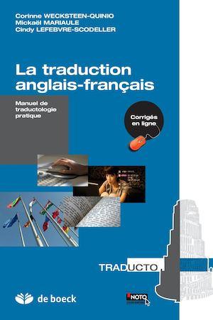 Calameo La Traduction Anglais Francais