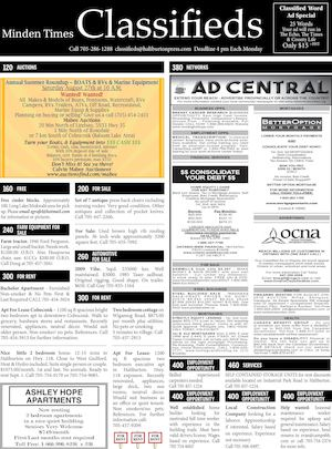 Classifieds August 18, 2016