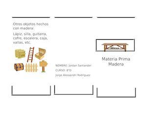 Calam o materia prima mesa - Como se elabora una silla de madera ...