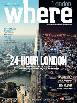 Where London September 2016