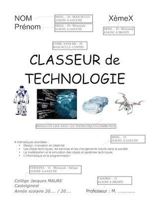Calaméo Modele Page De Garde Classeur