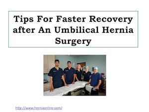 Calaméo - Tips For Faster Recovery after An Umbilical Hernia