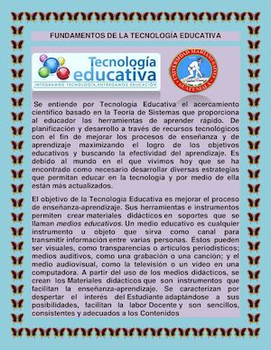 Tecnologia Educativa Lety