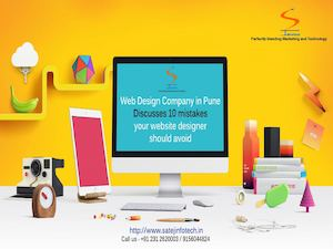 Web Design Company In Pune Discusses 10 Mistakes Your Website Designer Should Avoid