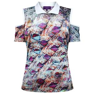 Get This Printed Purple Ladies Blouse For Only P898 From Kamiseta While Stocks Last 86041