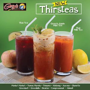 End Your Week With The New Thirteas At Gerrys Grill While Servings Last 86124