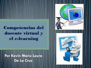 Competencias del docente virtual y el E-learning