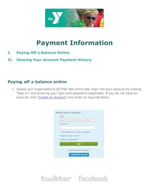 Rochester Payment Information