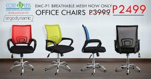 Emc P1 Breathable Mesh Office Chair Is Available For Only P2499 At Cost U Less While Stocks Last 86208