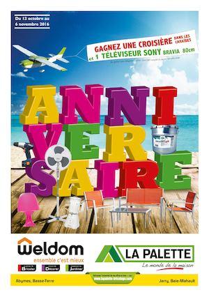 Calaméo - La Palette / Weldom Guadeloupe - Anniversaire