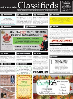 Classifieds September 20, 2016