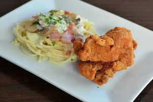 Order A 1pc Chicken Carbonara Meal Regular For Only P149 At Angels Pizza 86408
