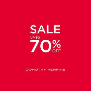 Enjoy Sale With Up To 70 Off At Dorothy Perkins Valid Until October 19 2016 86414
