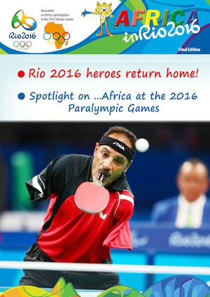 Newsletter Paralympic Games 2016