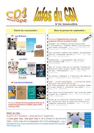 Bulletin N°34 Octobre2016 Pub