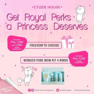Get Royal Perks A Princess Deserves At Etude House Valid Until October 31 2016 86463