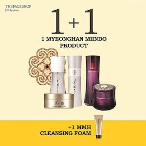 Get A Free Myeonghan Miindo Glowing Cleansing Foam From Thefaceshop Until October 16 2016 86465