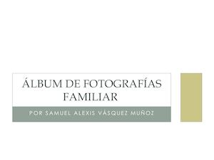 ÁLbum De Fotografías Familiar