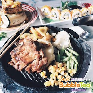 Enjoy Sizzling Chicken With Black Pepper Sauce At Tokyo Bubble Tea Restaurant 86485
