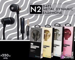 Get This D489 Metal Dynamic Earphone For P350 Only At Digibabe Tech Lifestyle 86498