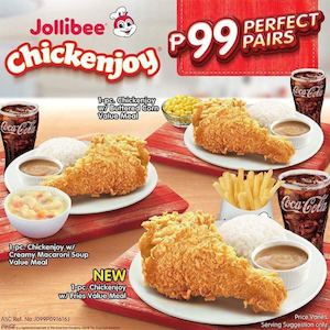 Visit Enjoy Chicken Perfect Pairs For Only P99 At Jollibee 86501