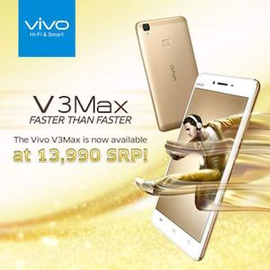 The Vivo V3max Is Now Available For P13990 Only At Sm Cyberzone 86508