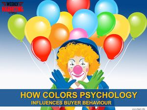 How Color Psychology Influences Buyer Behaviour | Marketing Tips