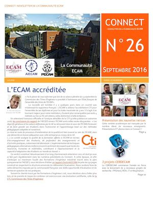 Connect 26 - Septembre 2016