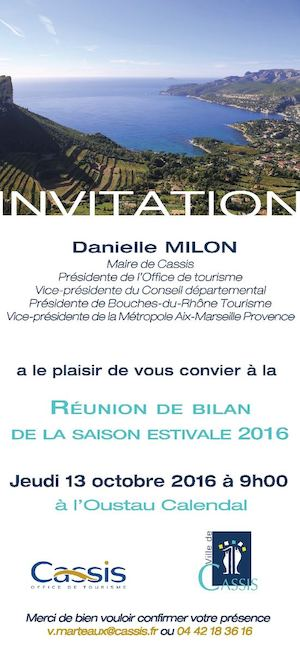 Invitation - Réunion Commercants Octobre 2016
