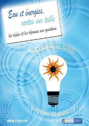 Eau et Energies, cartes sur table, le guide