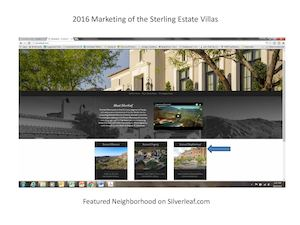 Sterling Estate Villas Marketing Overview