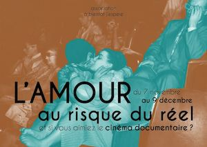 L'Amour Au Risque Du Reel [7NOV-9DEC 2016]