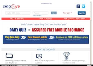 Calaméo - Free Talktime Recharge Quiz At Zing Oye